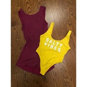 Other - Yellow salty bather